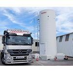 Installation d'un silo industrie